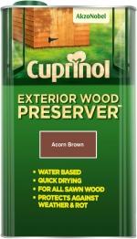 Cuprinol Exterior Wood Preserver Acorn Brown (bp) 5l
