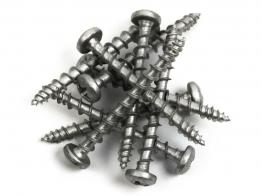 Exterior Tite Screw Black Csk 4mm X 40mm 200 Pieces