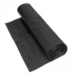Visqueen Polythene Damp Proof Membrane Bba Black 4m X 25m 250mu