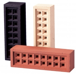 Hepworth Square Hole Airbrick Buff 65mm
