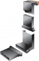 Manthorpe Vertical Extension Sleeve