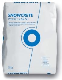Blue Circle Snowcrete White Portland Cement 25kg