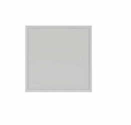 Tradeline Picture Frame Lock Access Panel (gloss White) 600mm X 600mm