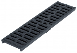 Aco Multidrain Channel Ductile Grating Heelguard 123mm X 21mm X 500mm