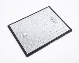 Clark-drain Manhole Cover And Frame Galvanised Steel 450mm X 600mm
