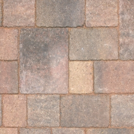 Marshalls Drivesett Tegula Concrete Block Paving Medium Traditional 160mm X 160mm X 50mm (england & Wales)