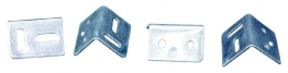 4trade Stretcher Plates Zinc Plated 38mm Pack Of 4