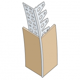 Expamet White Plastic Dry Lining Arch Bead 3m