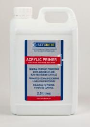 Setcrete Acrylic Primer 2.5l
