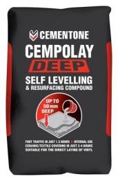 Cementone Cempolay Deep Floor Levelling Compound 20kg