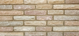 Marshalls Fairstone Walling Tumbled Autumn Bronze 220mm X 65mm X 100mm