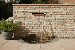 Marshalls Fairstone Walling Pitched Autumn Bronze 300mm X 65mm X 100mm