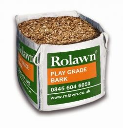 Rolawn Play Grade Bark Bulk Bag 1m³