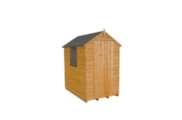 Shiplap Dip Treated Apex Shed 1219mm X 1828mm