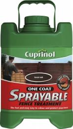 Cuprinol One Coat Sprayable Fence Treatment Forest Oak 5l