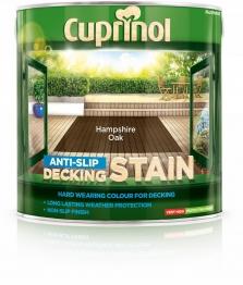 Cuprinol Anti Slip Decking Stain Hampsshire Oak 2.5l