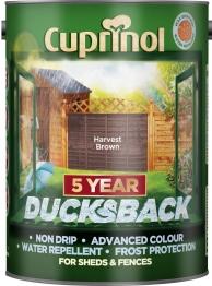 Cuprinol 5 Year Ducksback Harvest Brown 5l