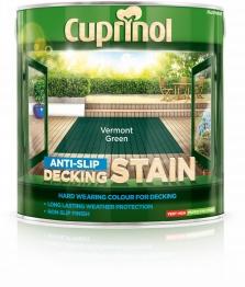 Cuprinol Anti Slip Decking Stain Vermont Green 2.5l