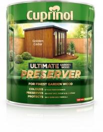 Cuprinol Ultimate Garden Wood Preserver Golden Cedar 4l