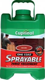 Cuprinol One Coat Sprayable Fence Treatment Rich Cedar 5l
