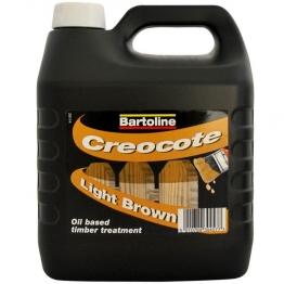 Bartoline Creocote Dark 4 Litre