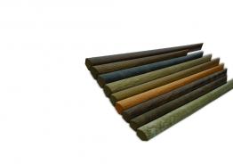 Quadrant Beading - Match For Anthracite Effect Laminate Flooring 12mm X 2.6m