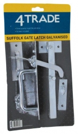 4trade Suffolk Gate Latch Galvanised