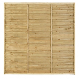 Fence Panel Hi-spec Pressure Treated 1828mm X 1828mm