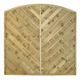 Fence Panel Bradville Pressure Treated 1800mm X 1800mm