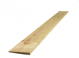 Feather Edged Board Treated Green (2 Ex) 22mm X 150mm X 3600mm