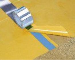 Visqueen Low Permeability Gas Membrane Yellow 4x12.5m 500mu
