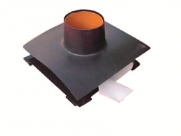 Visqueen Radon Membrane Top Hat Unit 110mm