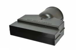 Manthorpe Remote Void Adaptor 9in X 3in