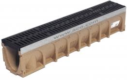 Aco Multidrain Channel Galvanised Rail 135mm X 200mm X 1000mm