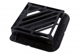 Clark Gully Grate & Frame 415mm X 415mm X 100mm Ductile Double Tri D400 Clks 644kmd