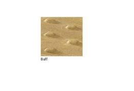 Pressed Paving Blister Slab Buff 450mm X 450mm X 50mm