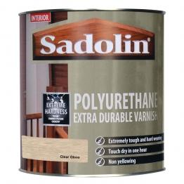 Sadolin Polyurethane Extra Durable Varnish Clear Gloss 1l