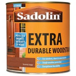 Sadolin Extra Durable Woodstain Burma Teak 1 Litre