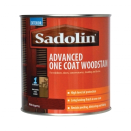 Sadolin One Coat High Performance Woosdtain Mahogany 1l