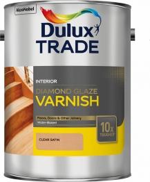 Dulux Diamond Glaze Varnish Satin 5 Litre