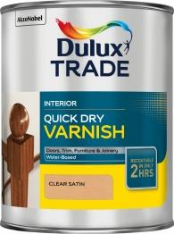 Dulux Quick Drying Varnish Satin 1 Litre