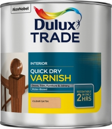 Dulux Quick Drying Varnish Satin 2.5 Litre