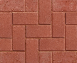 Marshalls Driveline 50 Concrete Block Paving Red 200mm X 100mm X 50mm