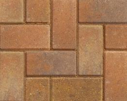 Marshalls Keyblock Concrete Block Paving Bracken 200mm X 100mm X 60mm