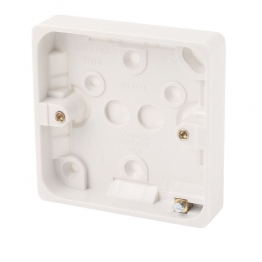 Crabtree 20mm Surface Moulded Box 9043
