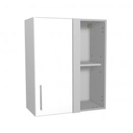 Orlando White Corner Wall Unit 600mm