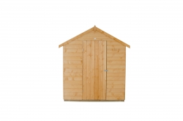 Shiplap Dip Treated Apex Shed With Onduline Roof 1829mm X 2438mm