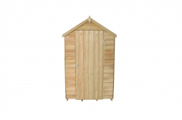 Overlap Pressure Treated Apex Shed No Windows 1219mm X 1829mm