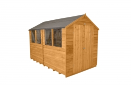 Overlap Dip Treated Double Door Apex Shed 2438mm X 3048mm