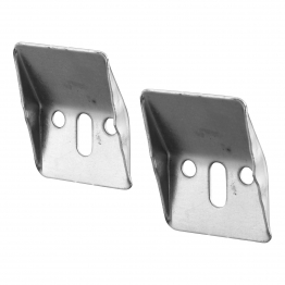 Ideal Standard E501067 Steel Wall Hangers Pack Of 2